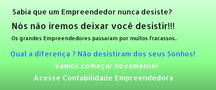 contabilidade empreendedora - abrir empresa