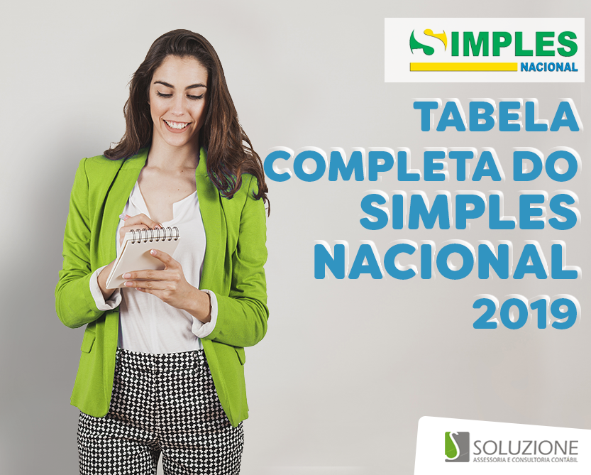 Tabela Simples Nacional