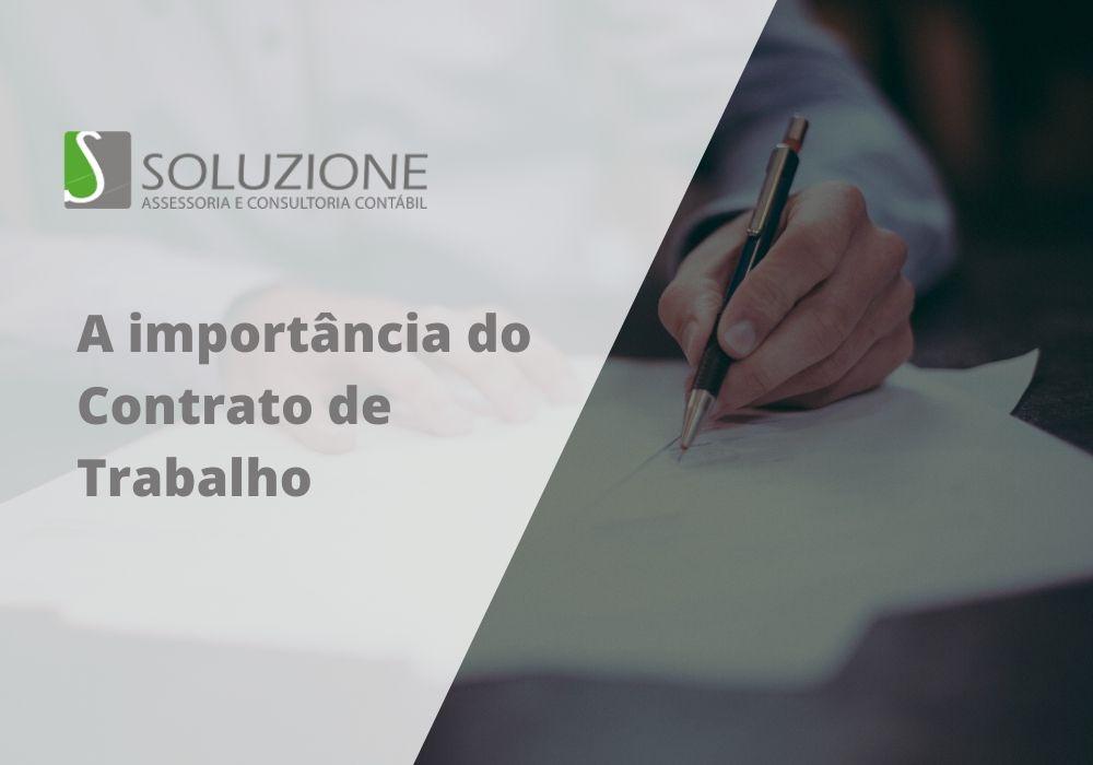 Entenda a importância do contrato de trabalho para sua empresa