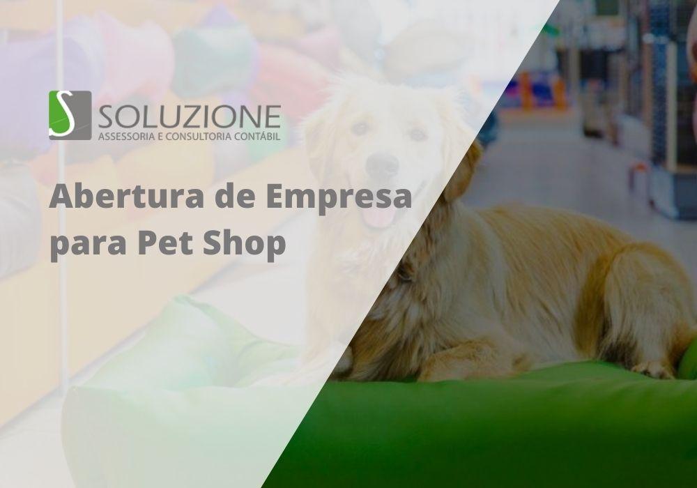 Abertura de empresa para pet shop