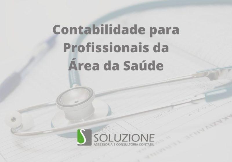 contabilidade para profissionais da área da saúde em São Paulo